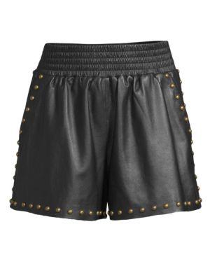 Henri Leather Shorts