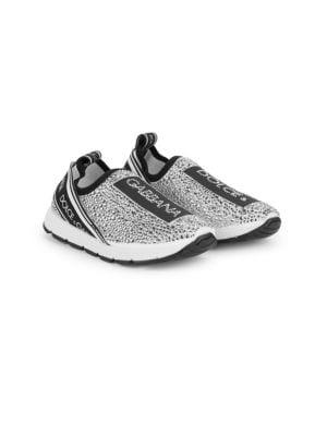 Kid's Embellished Slip-on Sneakers