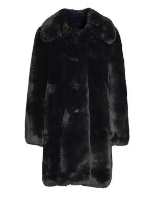 Plush Faux Fur Teddy Coat