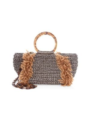 Wool Corallina Crossbody