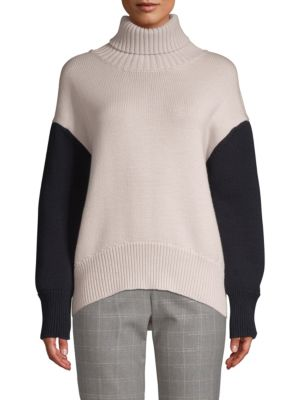Multi-Color Chunky Turtleneck