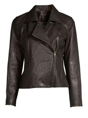 Zip-Up Moto Jacket
