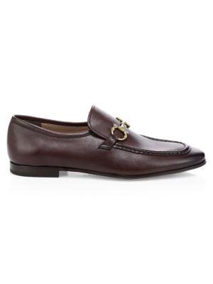 SALVATORE FERRAGAMO | Anderson Leather Loafers | Goxip