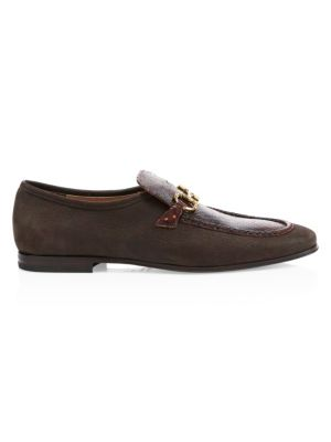 Anderson Python & Leather Loafer