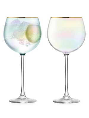 Sorbet Two-Piece Balloon Glass Set