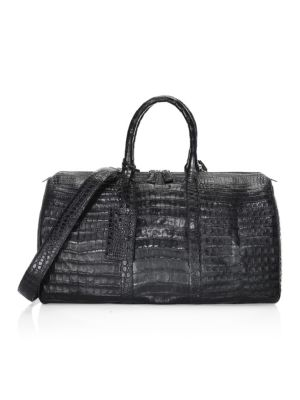 Crocodile Weekender Bag