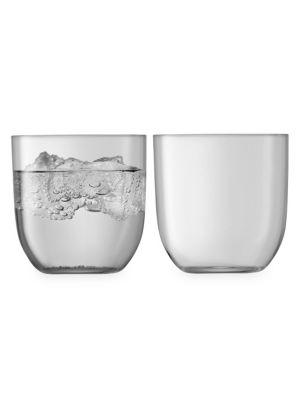 Utility Tumbler Two-Piece Drinking Glass Set