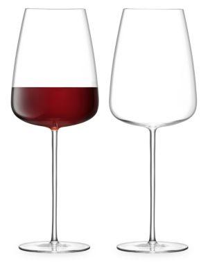 Wine Culture Two-Piece Wine Glass Set