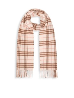 Vintage Check Cashmere Scarf
