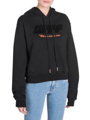 Cropped Modern Obstacles Hoodie