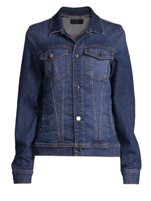 JEN7 BY 7 FOR ALL MANKIND Slim-Fit Classic Denim Jacket