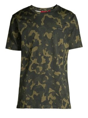 HUGO BOSS Camo Cotton T-Shirt