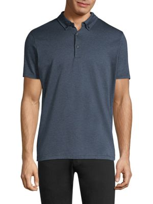 HUGO BOSS Dylot Jacquard Cotton Polo