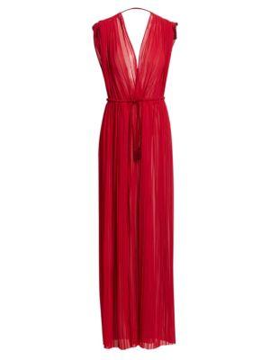 Minerva Chiffon Maxi Dress