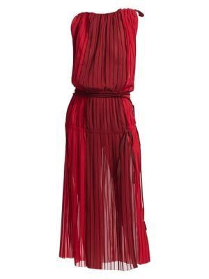 TRE BY NATALIE RATABESI Fama Chiffon Dress