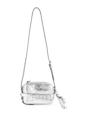 Silver Camera Bag