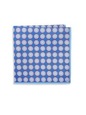 Silk Polka Dot Pocket Square