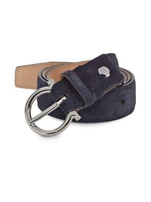 Gancio Gunmetal Belt