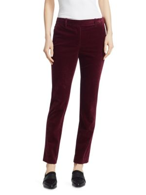 Slim-Fit Modern Corduroy Trousers