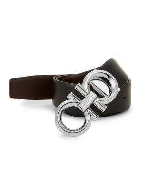 Reversible & Adjustable Gancini Belt