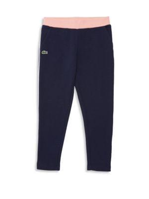 LACOSTE | Little Girl's & Girl's Fleece Pants | Goxip