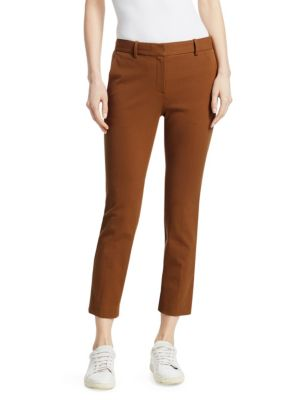 Treeca 2 Straight Leg Ankle Trousers by Theory