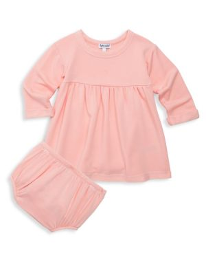 Baby Girl's Two-Piece Dress & Bloomers Set
