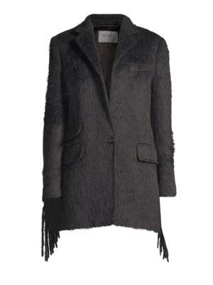 Manico Virgin Wool & Alpaca Trench Coat