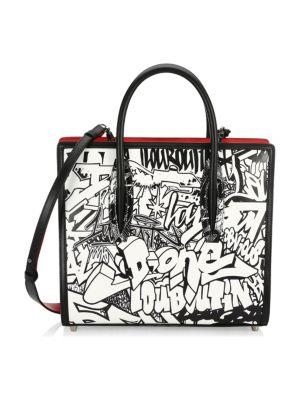 Medium Paloma Graffiti Leather Tote