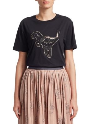 Coach 1941 Embellished Rexy Cotton Tee