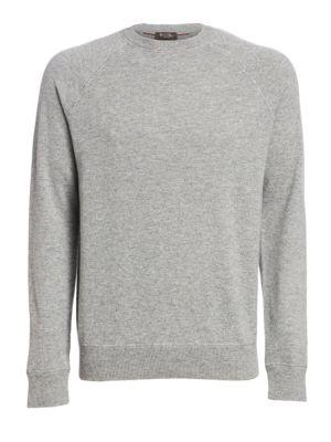 Silverstone Cashmere Crewneck Sweater