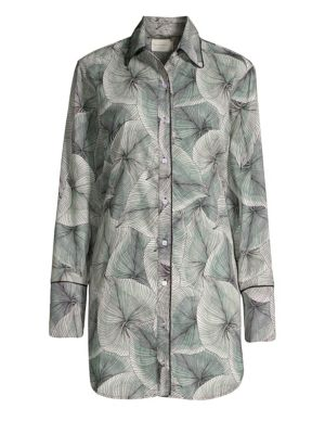 Sam Palm-Leaf Sleepshirt