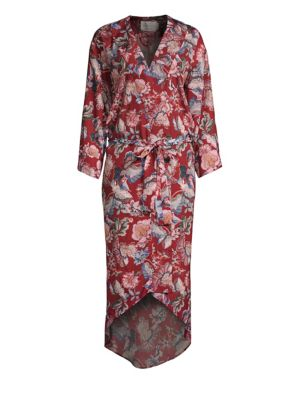 Isabella Floral Robe