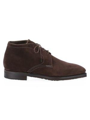 CORTHAY Suede Chukka Boots
