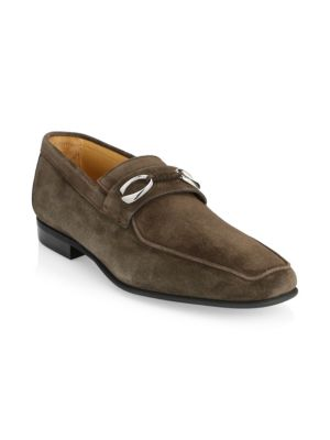 CORTHAY Cannes Suede Loafers