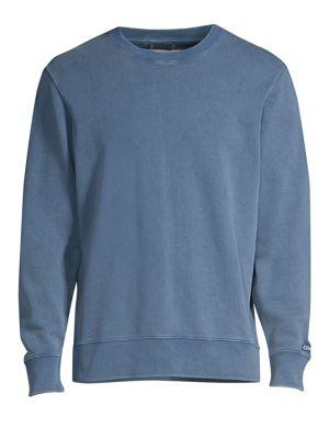OVADIA & SONS Distressed Cotton Sweatshirt