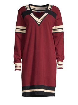 WILT Varsity Sweater Dress