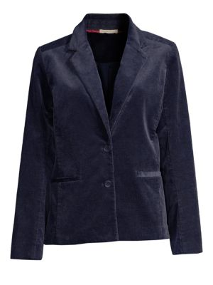 Notch Collar Shaped Jacket