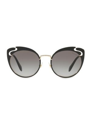 54mm Cut-Out Butterfly Sunglasses