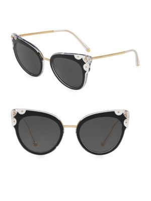 51MM Cat Eye Sunglasses