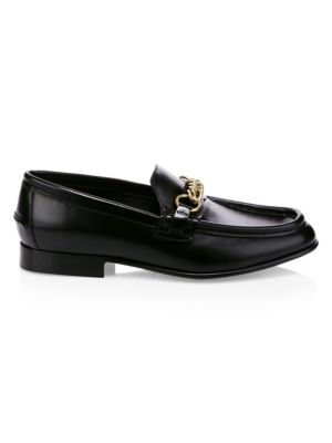 BURBERRY | The Leather Link Loafers | Goxip