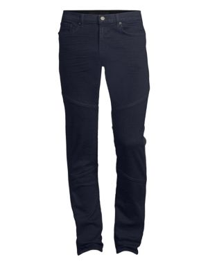 J BRAND Acidus Moto Slim-Fit Jeans