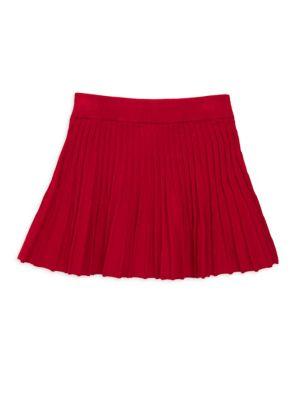 Little Girl's & Girl's Godet Pleated Skirt