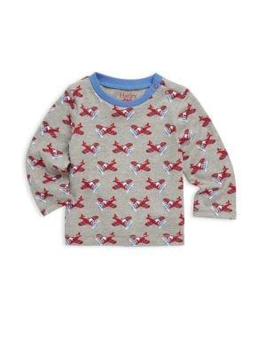 Baby Boy's Airplane Long-Sleeve Top