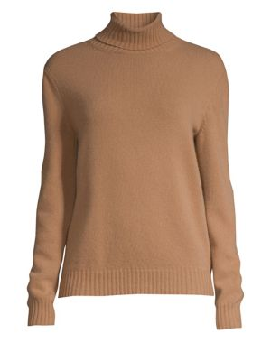 Ellisse Wool & Cashmere Turtleneck Sweater