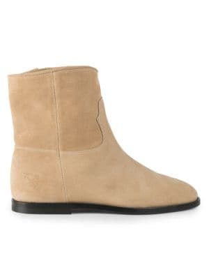 OFF-WHITE Paperclip Chelsea Suede Boots