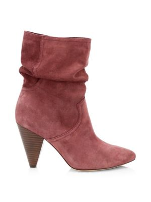 Gabbissy Slouchy Suede Booties