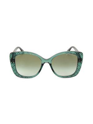 DNA Intrecciato 53MM Butterfly Sunglasses