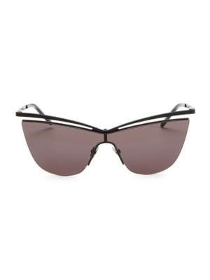 Metal 99MM Cateye Sunglasses