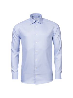 Contemporary-Fit Houndstooth Cotton Dress Shirt
